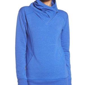 ZELLA Blue Asymmetrical Pullover Top - Size M